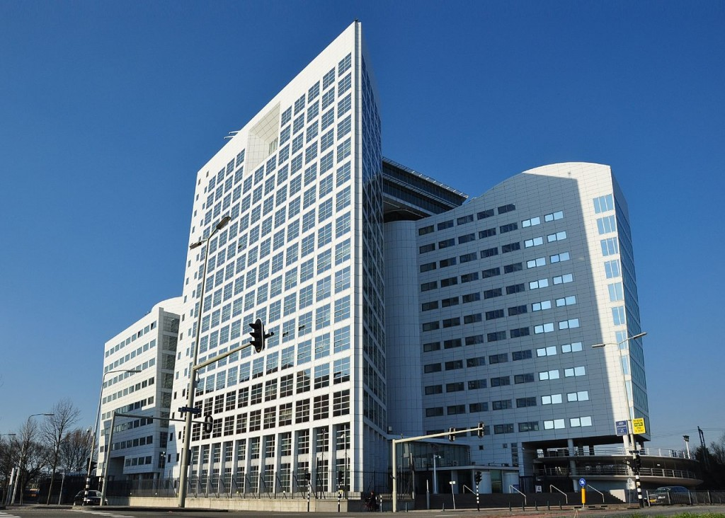 The main building of the International Criminal Court in The Hague, Netherlands. (Image source: Wikimedia Commons/Vincent van Zeijst)