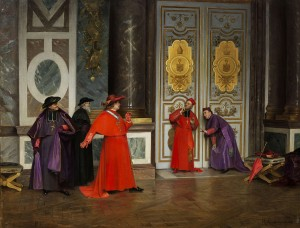 Eavesdropping cardinals