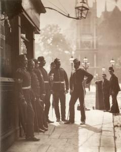 Recruiting serjeants, 1877