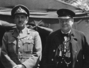 Lesson from history: Alan Brooke and Churchill in Normandy, 12 June 1944