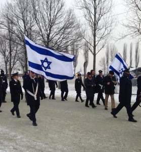 IDF at Auschwitz