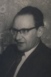 Simche Unsdorfer in later life.